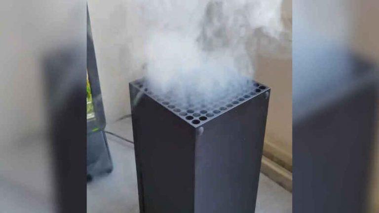 La XBOX echando humo es FALSO
