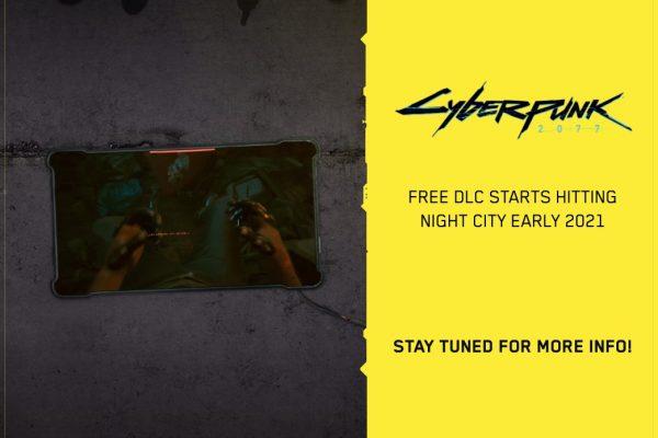 Cyberpunk 2077: el primer DLC gratuito llegará pronto al juego