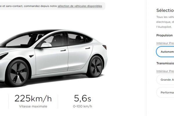Bajada de precio del Tesla Model 3
