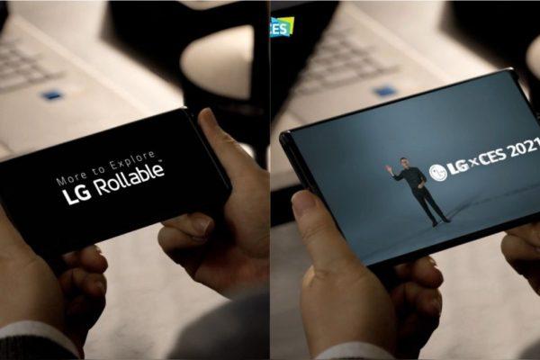 El LG Rollable se deja ver en el CES 2021