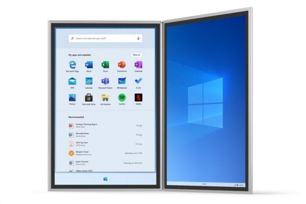 Filtrado Windows 10X. La versión ultraligera que viene
