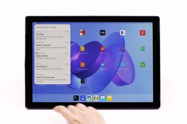 JingOS es una distribución Linux que copia a iPadOS