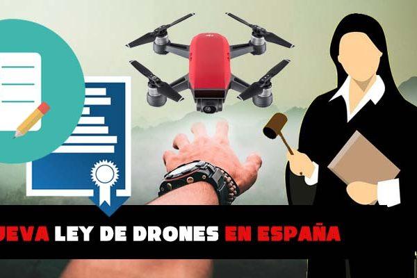 Cambia la ley para los drones